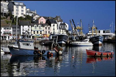 Brixham on the English Riviera