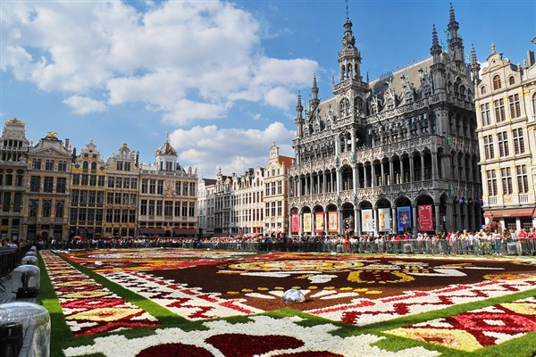 Brussels Carpet of Flowers
