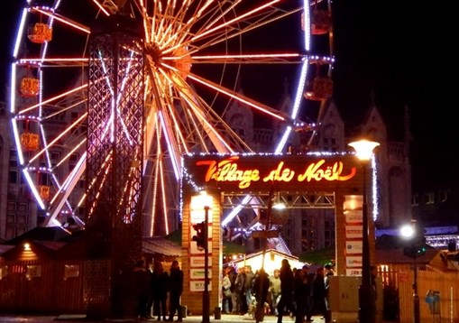 Belgium - Village De Noel