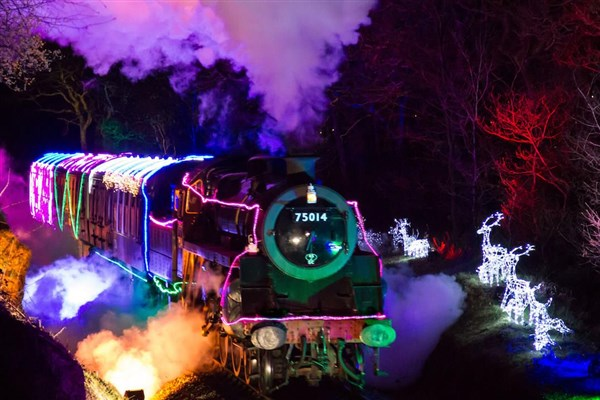 Dartmouth Steam Railway - The Train of Lights