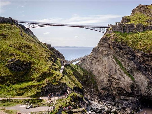 Tintagel Castle & Village