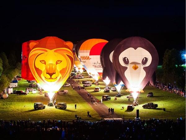 Longleat : Sky Safari - Balloon Fiesta